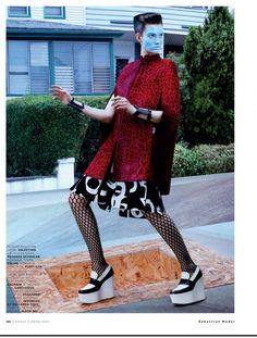 #Vogue_Russia_2013_06 «Ольга» #Sebastian_Mader (фото) #Natasha_Royt (стиль)