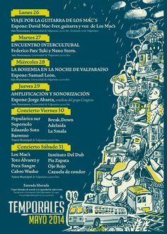 PROGRAMA Temporales Musicales #Valpo #zonaavisos