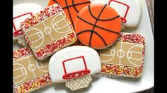Basketball fan cookies