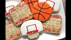 Basketball fan cookies