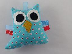 Softie owl rattle by LittleSideKick