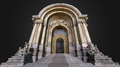 Petit Palais - Paris by Drones Imaging