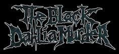 The Black Dahlia Murder logo photo BlackDahliaMurderLogoColor. Metal Band Logos, Metal Bands, The Black Dahlia Murder, Calming Music, Logo Design, Graphic Design, Photo Logo, Death Metal, Neon Signs