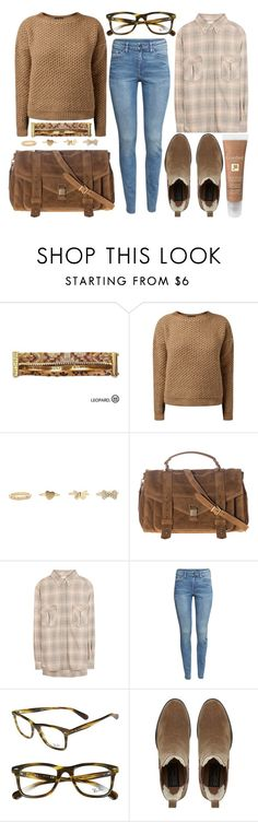 """""""street style"""" by sisaez ❤ liked on Polyvore featuring Hipanema, Charlotte Russe, Proenza Schouler, Étoile Isabel Marant, H&M, Ray-Ban, Bertie and Lancôme"""