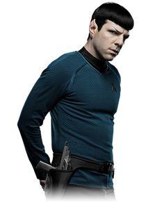 Commander Spock nunca tive um uniforme de Star Trek mas sempre tive vontade de ter.