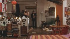 """Celine's apartment in """"Before Sunset"""" is one of my favourite movie interiors. Ah, the artful messiness and parisian flea market charm!"""