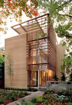 Eco Modern House Madrona Residence by Vandeventer - Carlander Architects