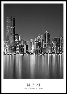 poster in the group posters / sizes and formats / at Desenio A . Miami poster in the group posters / sizes and formats / at Desenio A .,Miami poster in the group posters / sizes and formats / at Desenio A ., Black and white poster with Eiffel Tower New York Poster, City Poster, Chicago Poster, Gold Poster, Poster Wall, Desenio Posters, Los Angeles Map, Groups Poster
