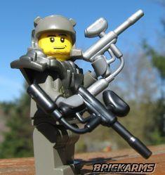 BrickArms Paintball Marker LEGO Minifigure Weapon