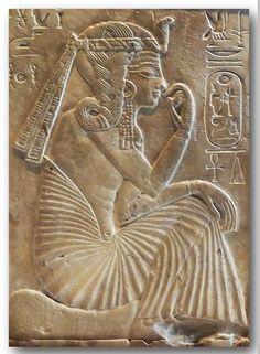 Ramses the Great as a Child. Limestone. Musée du Louvre.   Hans Ollermann