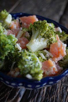 Puur & Lekker leven volgens Mandy: Broccoli-Zalm Salade