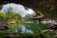 Escape to the Hamilton Pool, Austin, Texas, USA