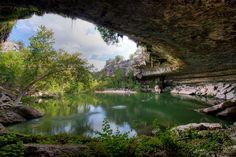 Escape to the Hamilton Pool, Austin, Texas, USA