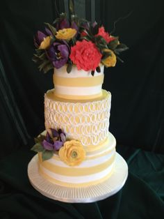 spring wedding cakes | Home Portfolio Pricing Flavors & Fillings Testimonials Accolades About ...