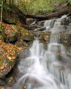 Waterfall Smokey Mountains, TN