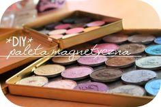 Magda Góra Beauty and Fitness Blog: DIY- paletka magnetyczna na cienie.