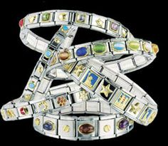 I have a few of these Italian charm bracelets. They were popular about ten years ago but I still like the look.