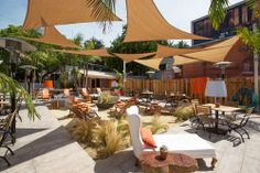 Beach Nation, A Seaside Hangout in the Heart of WeHo - First Look - Eater LA