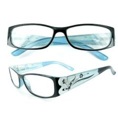 """""""Tiffany's Garden"""" Designer Fashion Reading Glasses for Youthful Women Who Like to Read with Style."""