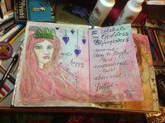 SPLAT PAINT - ART Journaling: My LifeBook 2012 CREATIONS