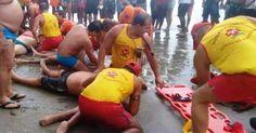 Quatro banhistas morrem ao serem atingidos por um raio no litoral de SP