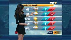 Fannia Lozano y el Clima en Las Noticias Monterrey 12:00 PM 26-Dic-2013 ...