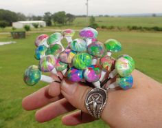 huge set of 24 handcrafted tie dyed  by ozarkmountainmagic on Etsy, $15.00