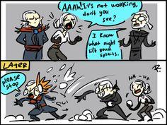 The Witcher 3, doodles 138 by Ayej.deviantart.com on @DeviantArt