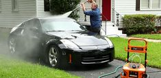 Best pressure washer for cars: What a nice car! It's yours, too clean but which is the best pressure washer for the car? Car Washer, Cleaning Equipment, Car Cleaning, Best Pressure Washer, Pressure Washers, Gfci Plug, Car Buying Tips, Washer Machine