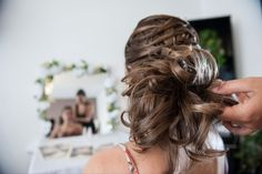 coiffure de mariage photographe moulard coiffure Marie France