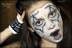 Unleashed Sad Mime Makeup ...Halloween character >:))