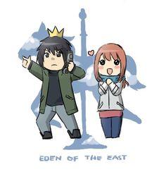 Eden Of The East Chibi