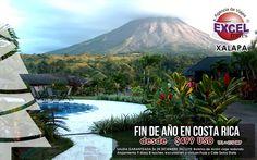 Pura Vida Costa Rica! Pasa un fin de año espectacular entre montañas, volcanes, naturaleza y diversión!