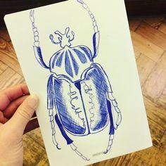 Beetlejuice, Pen And Paper, Cool Artwork, Sketching, Museum, Instagram Posts, Inspiration, Biblical Inspiration, Cool Art