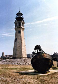 Buffalo Main Light, Buffalo, New York (Lake Erie)