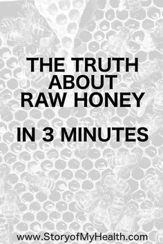Want to know more about #rawhoney? Let me give you a quick and simple understanding of how raw honey can benefit your #health!