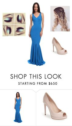 """""""Untitled #265"""" by sodapop-999 ❤ liked on Polyvore featuring ZAC Zac Posen and Fendi"""