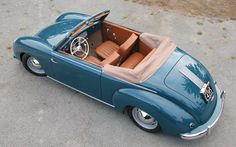Though it looks like a Porsche, the more practical Dannenhauer and Stauss Cabriolet featured rear seating.
