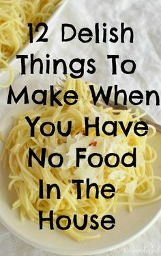 Lemon Garlic Pasta uses JUST 7 INGREDIENTS that you are sure to have in your kitchen.