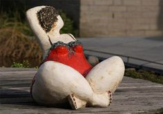 Saartje à la plage 2010 - Céramique Jacky Stappers