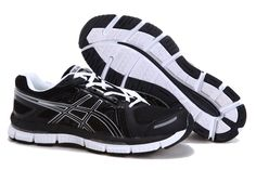 http://www.asicsgelrunning.com/  Asics 2032 Running Shoe Black White