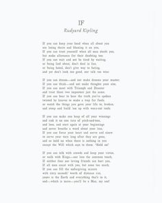 Grandma Quotes Discover If Box Print If by Rudyard Kipling If Poem Rudyard Kipling Poem Box Sign Youll be a man my son Self Love Quotes, Love Poems, Love Quotes For Him, Change Quotes, Quotes To Live By, Love Is Poem, Falling Out Of Love Quotes, Eh Poems, Poems For Him