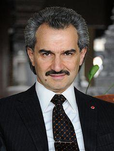 Voice for Change in Saudi Arabia: Prince alWaleed bin Talal bin Abdulaziz al-Saud, businessman and media magnate ranked 29th on Forbes' billionaire list