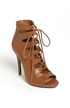 Caged Sandals is a favorite trend for Spring! Chinese Laundry 'Jackpot' Bootie available at #Nordstrom