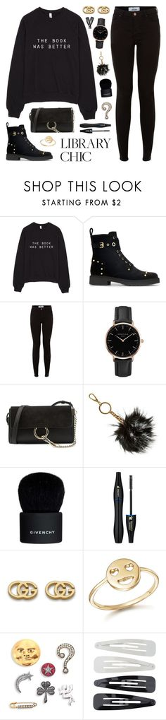 """""""Finals Season"""" by lgb321 on Polyvore featuring Fendi, New Look, Topshop, Chloé, B Brian Atwood, Givenchy, Lancôme, Gucci, Bing Bang and Marc Jacobs"""