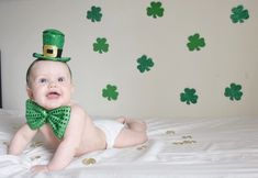 Inexpensive diy st patrick s day photo shoot a few dollar tree props some good lighting you can easily capture professional looking images! Monthly Baby Photos, Baby Boy Photos, Boy Pictures, Mommy And Me Photo Shoot, Boy Photo Shoot, St Patrick's Day Photos, St Patricks Day Pictures, St. Patrick's Day Diy, March Baby