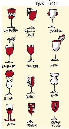 """""""hay un vino para todos y una copa para cada momento"""""""