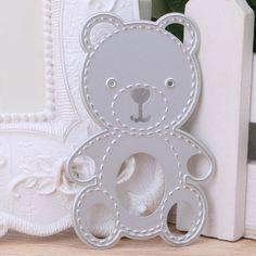 Bear Metal Cutting Dies Stencil Scrapbook Paper Card Embossing DIY Craft Gift #Unbranded