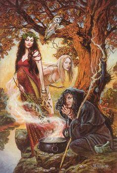 ✯ Maiden, Mother, Crone :: Artist Unknown✯