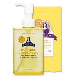 Etude House Real Art Cleansing Oil Moisture Advanced 185 milliliters Etude House Real Art Cleansing Oil Moisture Cleansing Oil is formulated with coconut oil to gently remove tough waterproof makeup while protection and moisturizing skin. https://skincare.boutiquecloset.com/product/etude-house-real-art-cleansing-oil-moisture-advanced-185-milliliters/